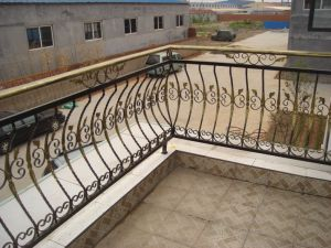 Exquisite Wrought Iron Fence Series (Balcony Fence) pictures & photos