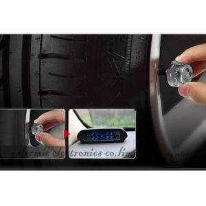 New Car Auto Solar TPMS Tyre Pressure Monitoring System pictures & photos
