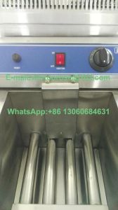 High Quality Kitchen Equipment Stainless Steel Deep Commercial Gas Fryer pictures & photos