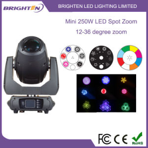 Super Mini 250W LED Spot Zoom Moving Lights pictures & photos