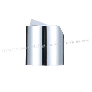 Aluminum and Plastic Screw Disc Cap (DC-03) pictures & photos