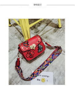 New Fashionable Embroidered Purse PU Ladies Wallet pictures & photos