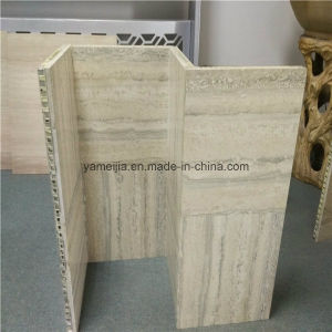Travertine Stone Faced Honeycomb Panels pictures & photos