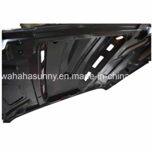 Lantsun Hot Sale High Quality Black Steel 07-16 for Jeep Wrangler Avenger Hood pictures & photos