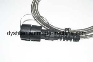 Waterproof Odva/MPO IP65 6.8mm Armored Patchcord pictures & photos