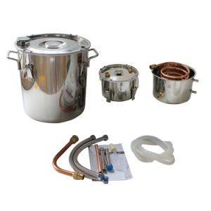 Home Distillation of Alcohol Stainless Home Brew Wine Making Kit pictures & photos