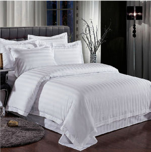 Hotel Linen 100%Cotton White Bedsheets for Hotel or Restaurant pictures & photos