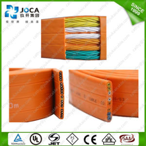Flexible PVC Insulated Multicore H05vvh6-F Flat Elevator Evvf Crane Cable pictures & photos