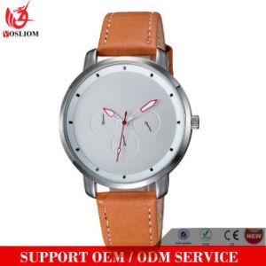 Yxl-064 Pormotion Hottest Leather Stainless Steel Watch Simple Design Men′s Watch Fashion Wristwatch Ladies Men Watches pictures & photos