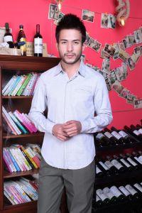 Stock! Cotton Men′s Shirt pictures & photos