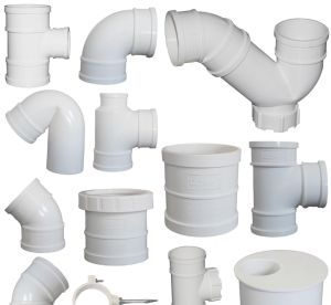 Sch80 CPVC Fittings in Grey Color pictures & photos
