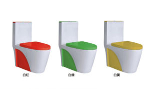 Hot Bathroom Sanitary Ware Siphonic One Piece Ceramic Toilet (8029) pictures & photos