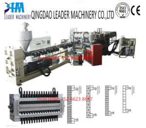 PC Hollow Structure Board/Corrugated Board Extrusion Line pictures & photos