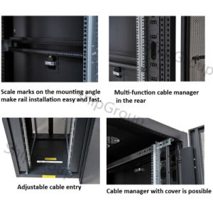 "19"" Server Rack / Network Cabinet pictures & photos"