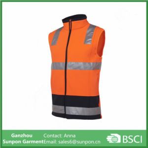 High Visibility Unisex safety Vest with Reflective Tape pictures & photos