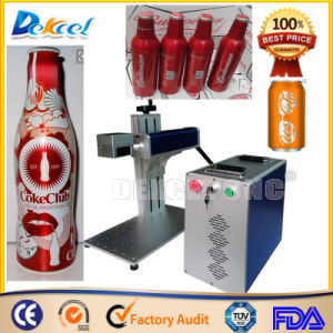 Mini Caco Cola Can Marking/Engraving Machine Fiber Laser pictures & photos