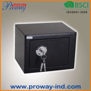 Mini Safe Box with Key Lock for Home pictures & photos