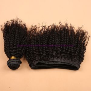 Best Quality 8A Peruvian Kinky Curly Virgin Hair Extensions Unprocessed Kinky Curly Human Hair Extensions for Black Women pictures & photos