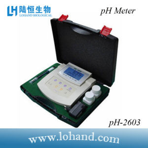 High Quality Bench Top pH Meter with Atc (pH-2603) pictures & photos