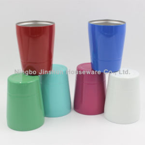8oz Stainless Steel Kids Cups Double Wall Rambler Small Tumbler pictures & photos
