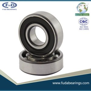 Deep Groove Ball Bearing 6202 2RS (fuda bearings) F&D Ball Bearings pictures & photos