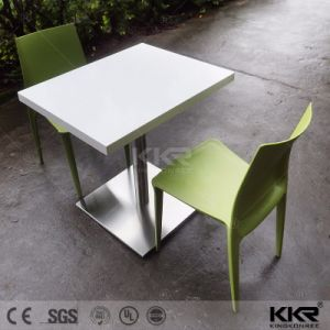 Kingkonree High Quality Modern Chairs Solid Surface Dinner Table Top pictures & photos