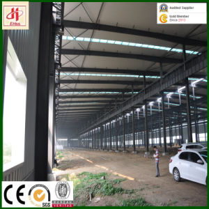Q235B Q345b Prefab H Section Steel Beam for Warehouse Workshop pictures & photos