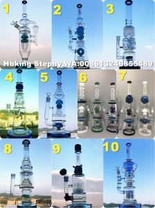 Wholesale Glass Smoking Water Pipe Factory with Various Colors Available pictures & photos