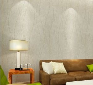 Seamless Wallpaper Fabric Simple Modern Bedroom Living Dining pictures & photos