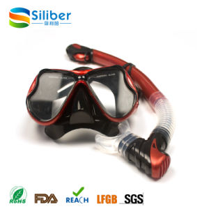 Snorkeling Mask Set, Low Price Scuba Diving Mask and Snorkel Set pictures & photos