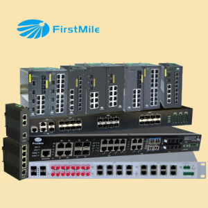 Dual Ring Unmanaged Industrial Ethernet Switch IDS 403 pictures & photos