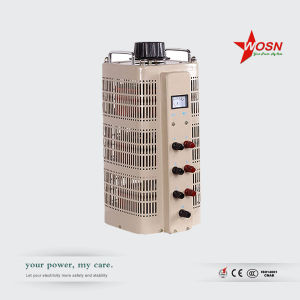 Tsgc2-15kVA Three Phase Variable Transformer Voltage Regulator pictures & photos