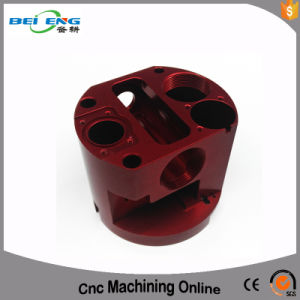 Customized CNC Machined Aluminum Parts 4 Axis Machining for Communication Terminals Parts pictures & photos