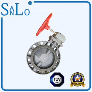 Ppv/PVC/UPVC Turbine Butterfly Valve From China pictures & photos