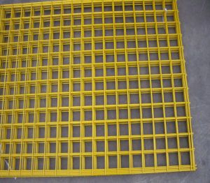 High Security Galvanized Wire Mesh Fence Panel pictures & photos