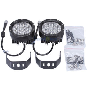 "LED6080 DC10-30V IP68 Aluminum 5"" Inch 80W Round Offroad LED Woring Light for Atvs Fork Lift Trains pictures & photos"