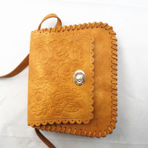 Amboss Retro Brown PU Cross Body Bag pictures & photos