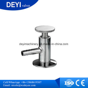SS304 SS316L Sanitary Normal Type Sampling Valve pictures & photos