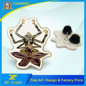 Low Price Custom Silver Plated Soft Enamel Pins for Promotion/Souvenir pictures & photos