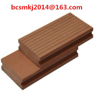 Waterproof Outdoor Wood Plastic Composite Decking with CE SGS pictures & photos