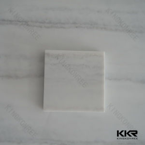 Textured Marble Veinining Pattern Acrylic Solid Surface Shower Wall Panels pictures & photos