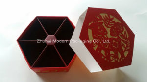 Customized Drawer Boxes Hexagonal Shape Laser Cutting Candy Paper Box/Food Box pictures & photos