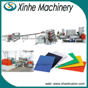 PP, PE, PS, Pet, ABS, PVC Plastic Sheet Extrusion Line/Plastic Extruder
