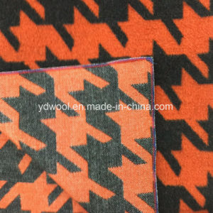Big Houndstooth Wool Fabric for Overcoat pictures & photos