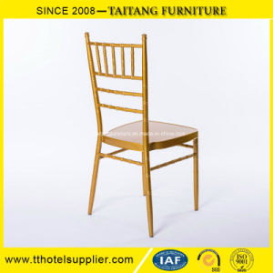 Stackable Metal Tiffany Event Catering Chiavari Wedding Chair pictures & photos
