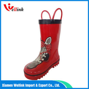 Fashion Style Kids High Quality Rubber Rainboots