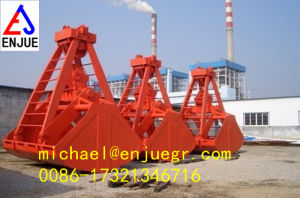 Bulk Handling Clamshell Grab Mechanical one rope clamshell buckets grab pictures & photos