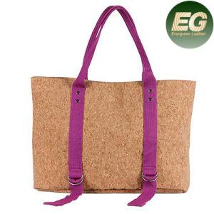 UK Cork Trend Tote Bag Feminine Cork Designer Handbags Sy7994 pictures & photos