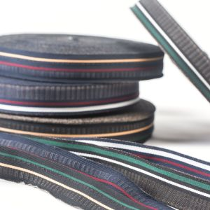 The Imitation Cotton Colorful Ribbon for Garments pictures & photos