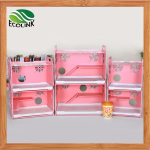 Happy Pet Strong Enough Eco Board Small Animals Double Cage with Decoration Small Animal Habitat for Gerbil Hamsters pictures & photos